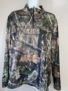 Under Armour 1 4 Zip Mens Mossy Oak Break up Country Camo Hunting 2XL Pullover