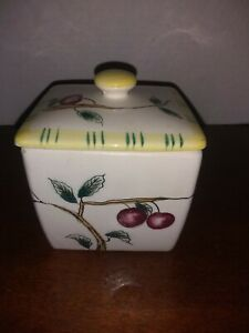 Vintage Box With Stems and Cherries $7.00