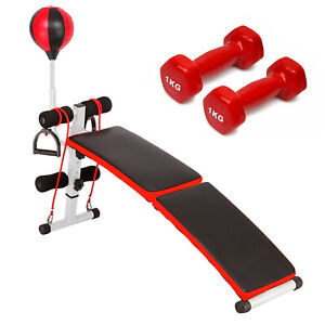 Multifunction Weightlifting Strength Training Bench Fitness Abdominal Home Gym $69.80
