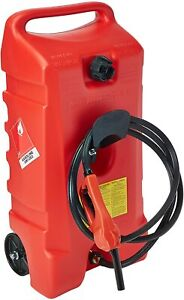 Scepter Duramax 14 Gallon Wheeled Fuel Container with Flo N Go Fuel Handle $199.99