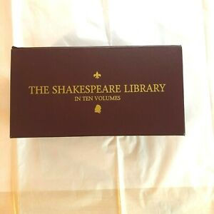 The Shakespeare Library in 10 Volumes Hard Copy