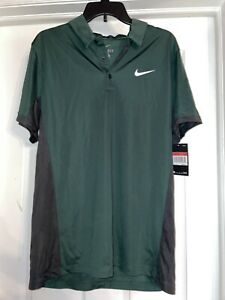 Nike Dry Fit Golf Shirt Mens Size Large $29.20