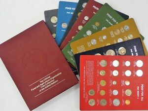 FAO 8 Panel SET of 146 Coins All Panels in Original Packaging 1968 1978 $595.00