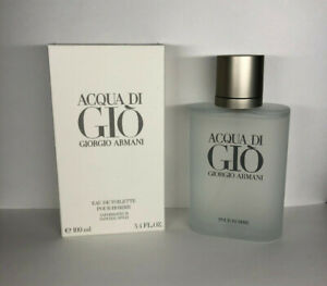 Acqua Di Gio by Giorgio Armani Men 3.4 oz Eau de Toilette spray New $32.99