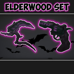 *CHEAP* Roblox Mm2 Elderwood Set Godly Gun and Knife *FAST DELIVERY*