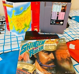 Shingen the Ruler Nintendo NES with Map amp; 40 page booklet $24.98
