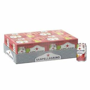 San Pellegrino Prickly Pear and Orange Italian Sparkling Drinks 11.15 oz 24 Pack $24.99