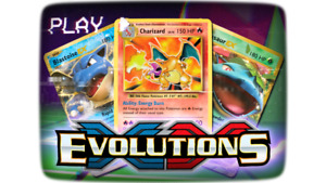 Pokemon TCG XY Evolutions Pick Your Card All 196 Cards Available $24.00
