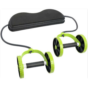 Abdominal Home Gym Fitness Roller AB Wheel Workout Training Fitness Exercise $17.63