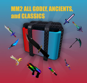 Roblox MM2 Murder Mystery 2 ALL GODLYS ANCIENTS VINTAGES💖 CHEAP and FAST 💖