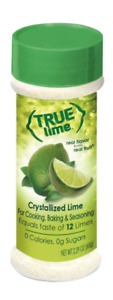 True Lime Crystallized Lime Shakers For Cooking Baking Seasoning 2.29 oz.