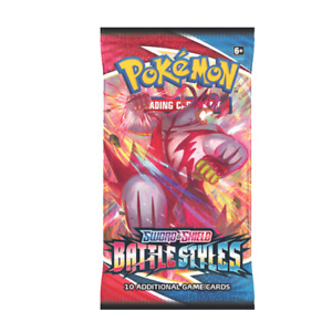 Pokemon Battle Styles Booster Pack wrapper art may vary $3.45