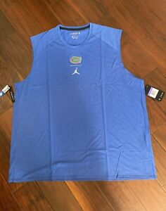 Nike Jordan Jumpman Florida State Gators 2XL Sleeveless Dry Fit Shirt XXL NWT $18.95