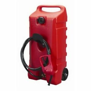 Scepter Flo N Go Duramax 14 Gallon Wheeled Siphoned Pump or Gravity Fed Fuel Cad $151.25