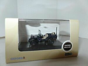 Oxford 76WMB001 WMB001 1 76 OO Scale Willys MB Jeep Royal Navy Beach Master