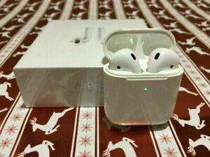 Apple AirPods 2nd Generation 100% Sealed With White Wireless Charging Case A $34.99