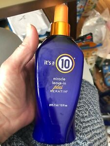 Its a 10 miracle leave in plus keratin 10 oz NEW $23.99