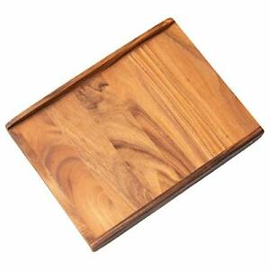 Thirteen Chefs Wood Pastry Board Large 24 Inch for Kneading Dough Pie Pizza