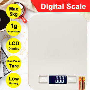 Digital Scale Kitchen Scale LCD Food Diet Postal Scale Weight Balance 5KG 1g