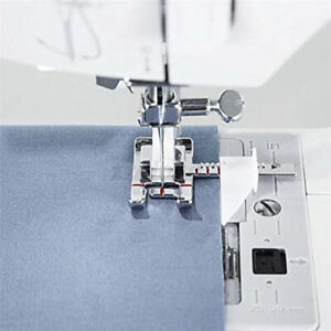 Adjustable Ruler Guide Sewing Machine Presser Foot 1 3#x27;#x27; 1 4#x27;#x27; IDT System W $7.46