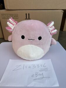 Pink Axolotl 8quot; Squishmallow In Hand New Ship Now $56.00