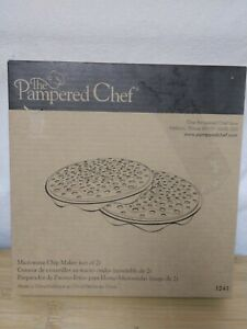 Microwave Chip Maker by Pampered Chef Set of 2 1241