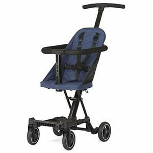 Coast Stroller Rider Lightweight One hand easy fold travel ready Navy $98.40