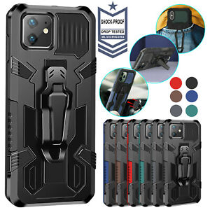 Shockproof Hybrid Armor Case For iPhone 11 12 Pro Max XR 8 7 Plus XS SE X Cover $7.61