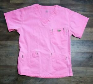 Med Couture Brightly Colored Scrubs Lot Of 2 Women#x27;s Size: XS