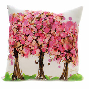 Home Decor CHERRY BLOSSOM PILLOW Polyester Climaweave Indoor Outdoor Slcbls
