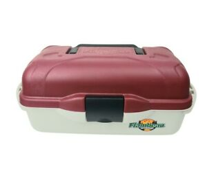 FLAMBEAU Outdoors 1 Tray Classic Tackle Storage Box For Fishing Supplies Lures