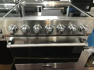 viking electric range