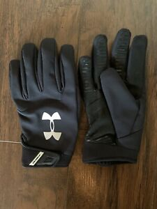 Under Armor Cold Gear Small Black Gloves $15.00