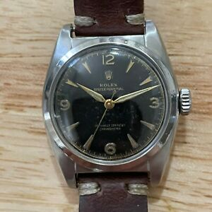 Rolex Oyster Perpetual Bubbleback 6050 $3850.00