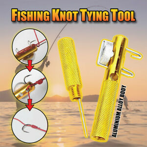 Practical Knot Line Tying Knotting Tool Manual Portable Fast Fishing Supplies US