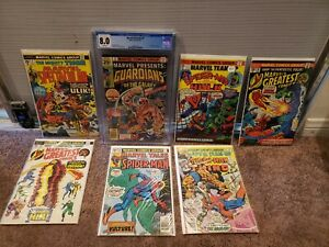 Marvel Comic Lot GRADED ISSUE INCLUDED $149.00