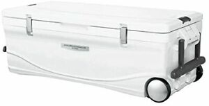 SHIMANO cooler box with large spacer whale casters for fishing 60L