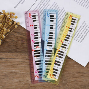 1xmusic ruler primary school students painting measuring scale creative ruler MQ C $2.56
