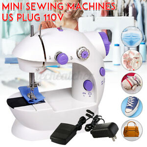 Automatic Electric Mini Sewing Machine Dual Speed Double Thread Stitching Tailor $15.63
