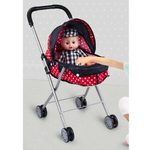 Baby Doll Stroller Shade Stroller Can Fit Up to 20 inch Dolls and Stuffed Anima $26.99