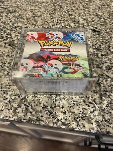 Pokemon Booster Box Acrylic Protective Case Durable And Magnetically Sealed $25.00