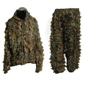 Hunting Clothes New 3D Maple Leaf Bionic Sniper Birdwatch Airsoft Camouflage