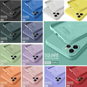 Shockproof Soft Case Liquid Silicone Cover For iPhone11 12 Pro Max XR XS 6S 7 8