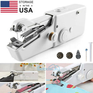 Mini Portable Smart Electric Tailor Stitch Hand held Sewing Machine Home Travel $13.81