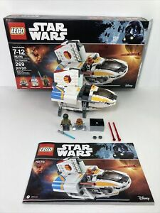 LEGO Star Wars Rebels The Phantom 75170 with 2 Minifigures box instructions 2017