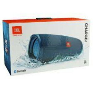 New JBL Charge 4 Portable Waterproof Wireless Bluetooth Speaker Blue Authentic $109.97