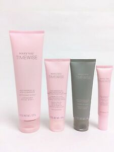 Mary Kay TimeWise Miracle Set 3D Full Size 4 in 1 Normal Dry Skin Mk New