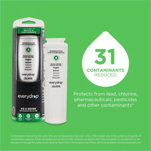 1 Count Every²Drop Refrigerator Water Filter 4 EDR²4RXD1 UKF8001