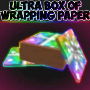 *CHEAP* Roblox Mm2 Ultra Box of Wrapping Paper MISK *FAST DELIVERY*