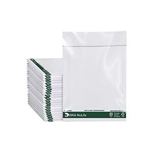Biodegradable Poly Bubble Mailers Padded Envelopes Plastic Protective Packaging $25.49